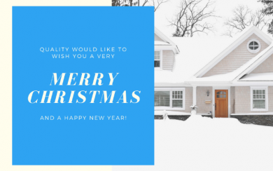 Merry Christmas from Quality Exteriors